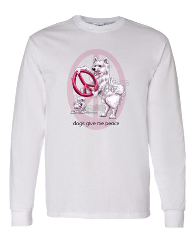 Samoyed - Peace Dogs - Long Sleeve T-Shirt