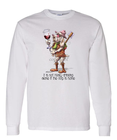 Spinoni - It's Not Drinking Alone - Long Sleeve T-Shirt