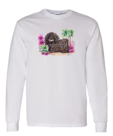 Puli - Tropic Beach - Caricature - Long Sleeve T-Shirt