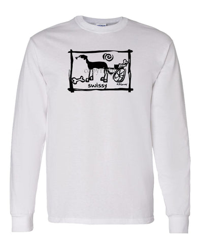 Greater Swiss Mountain Dog - Cavern Canine - Long Sleeve T-Shirt