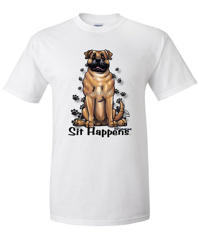 Bullmastiff - Sit Happens - T-Shirt