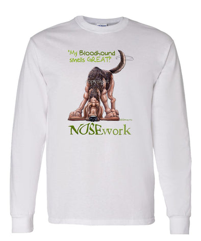 Bloodhound - Nosework - Long Sleeve T-Shirt