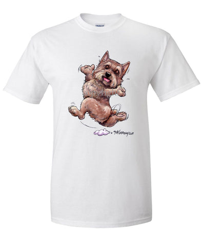 Norwich Terrier - Happy Dog - T-Shirt