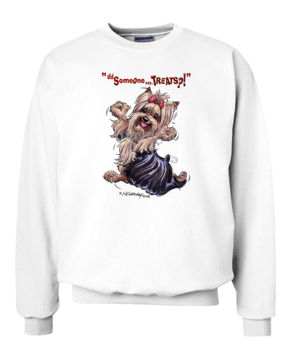 Yorkshire Terrier - Treats - Sweatshirt