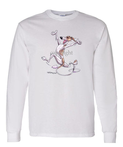 Whippet - Happy Dog - Long Sleeve T-Shirt