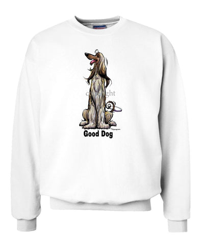 Afghan Hound - Good Dog - Sweatshirt