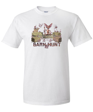 Chihuahua  Smooth - Barnhunt - T-Shirt
