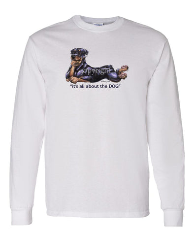 Rottweiler - All About The Dog - Long Sleeve T-Shirt