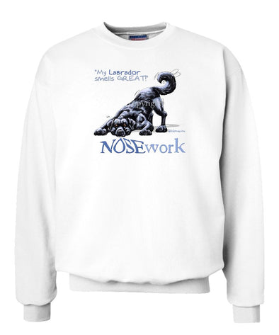 Labrador Retriever  Black - Nosework - Sweatshirt