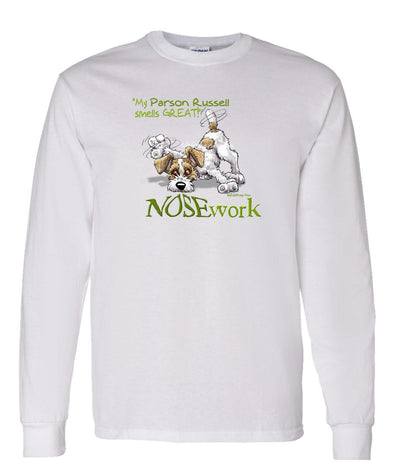 Parson Russell Terrier - Nosework - Long Sleeve T-Shirt