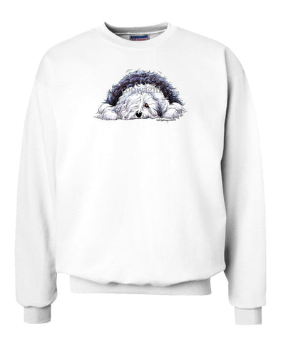 Old English Sheepdog - Rug Dog - Sweatshirt