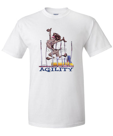 German Shorthaired Pointer - Agility Weave II - T-Shirt