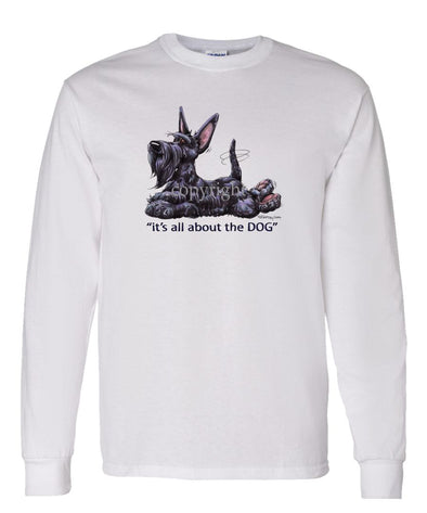 Scottish Terrier - All About The Dog - Long Sleeve T-Shirt