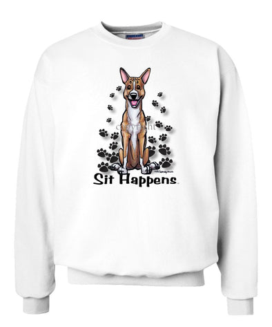 Basenji - Sit Happens - Sweatshirt