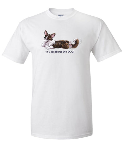 Welsh Corgi Cardigan - All About The Dog - T-Shirt