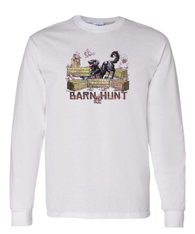 Flat Coated Retriever - Barnhunt - Long Sleeve T-Shirt