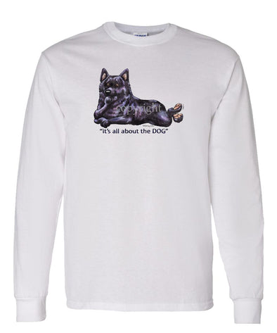 Schipperke - All About The Dog - Long Sleeve T-Shirt