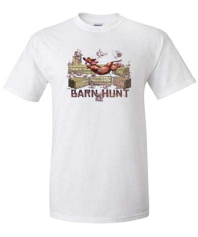 Dachshund  Smooth - Barnhunt - T-Shirt