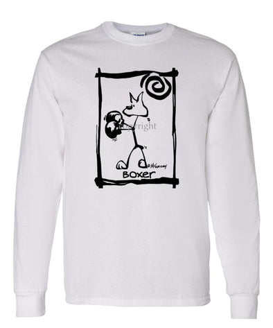 Boxer - Cavern Canine - Long Sleeve T-Shirt