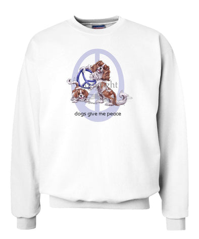 Cavalier King Charles - Peace Dogs - Sweatshirt