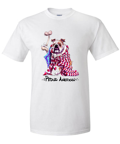 Bulldog - Proud American - T-Shirt