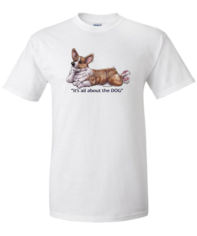 Welsh Corgi Pembroke - All About The Dog - T-Shirt