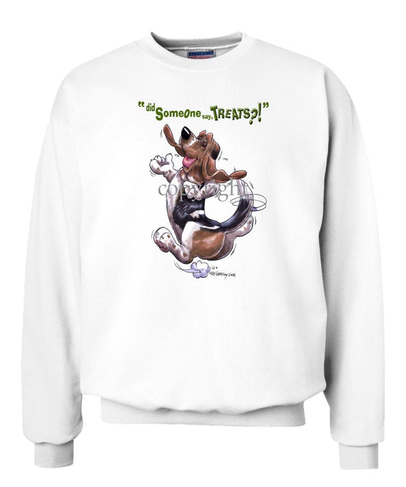 Basset Hound - Treats - Sweatshirt