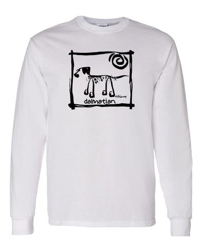 Dalmatian - Cavern Canine - Long Sleeve T-Shirt
