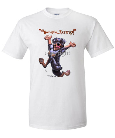 Rottweiler - Treats - T-Shirt