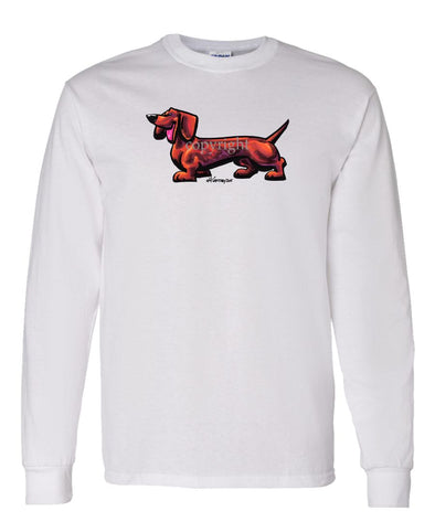 Dachshund - Cool Dog - Long Sleeve T-Shirt