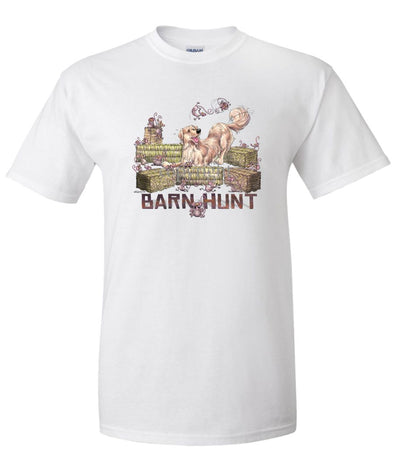 Golden Retriever - Barnhunt - T-Shirt