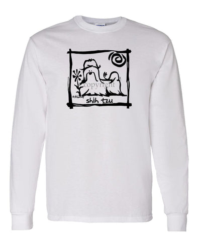 Shih Tzu - Cavern Canine - Long Sleeve T-Shirt