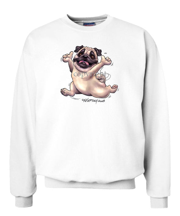 Pug - Happy Dog - Sweatshirt