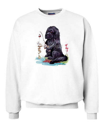 Newfoundland - Fishing - Caricature - Sweatshirt