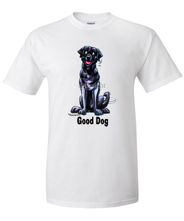 Labrador Retriever  Black - Good Dog - T-Shirt