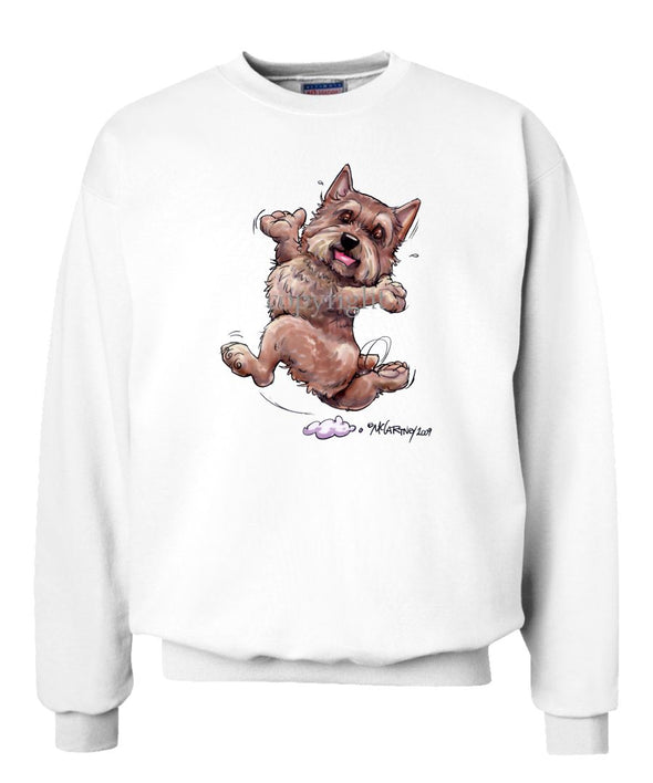 Norwich Terrier - Happy Dog - Sweatshirt
