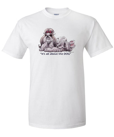 Shih Tzu - All About The Dog - T-Shirt
