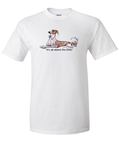 Whippet - All About The Dog - T-Shirt