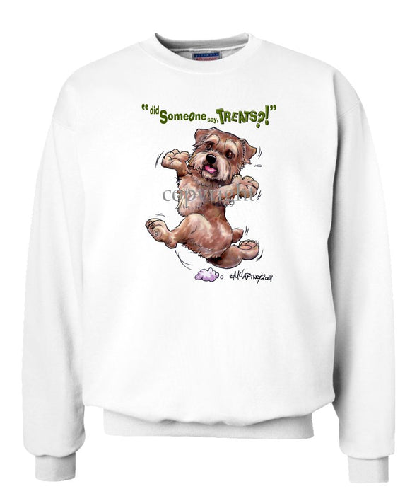 Norfolk Terrier - Treats - Sweatshirt