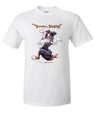 Australian Shepherd  Black Tri - Treats - T-Shirt