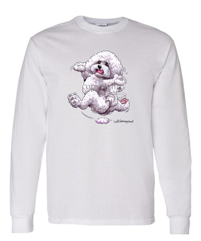Bichon Frise - Happy Dog - Long Sleeve T-Shirt