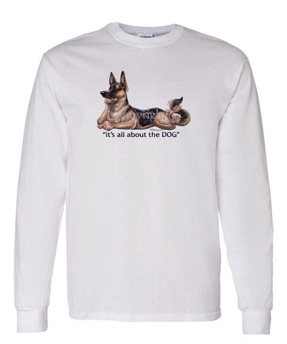 German Shepherd - All About The Dog - Long Sleeve T-Shirt