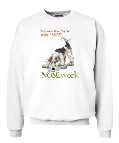 Wire Fox Terrier - Nosework - Sweatshirt