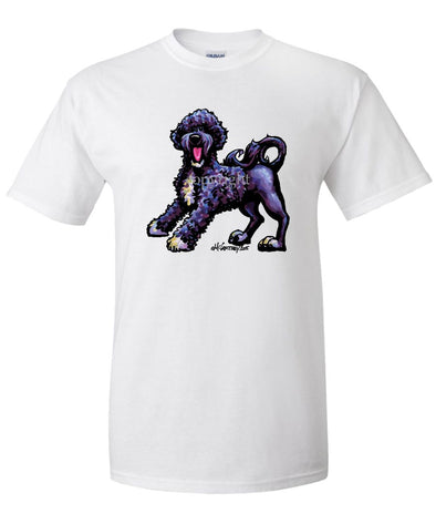 Portuguese Water Dog - Cool Dog - T-Shirt