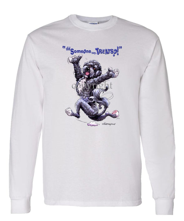 Portuguese Water Dog - Treats - Long Sleeve T-Shirt