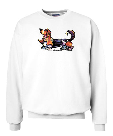 Basset Hound - Cool Dog - Sweatshirt