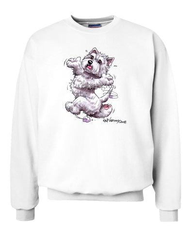 West Highland Terrier - Happy Dog - Sweatshirt