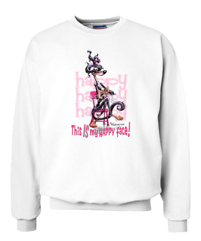 Saluki - Who's A Happy Dog - Sweatshirt