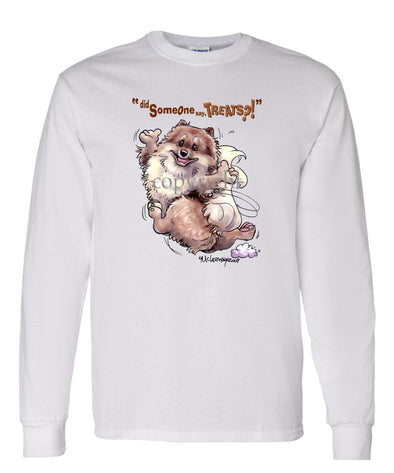 Pomeranian - Treats - Long Sleeve T-Shirt