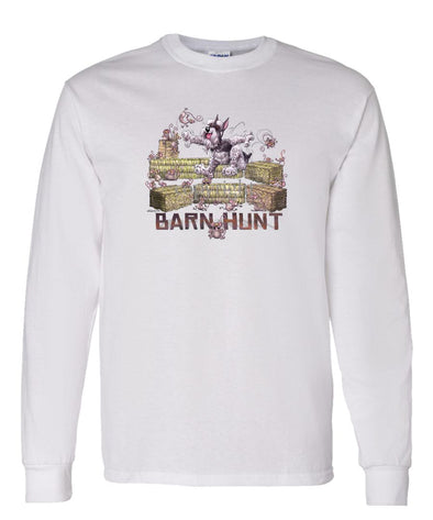Schnauzer - Barnhunt - Long Sleeve T-Shirt
